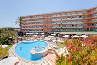 Mallorca im Janeiro Hotel und Spa in einer Außenansicht