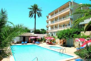 Mallorca im Venecia Hotel in einer Außenansicht
