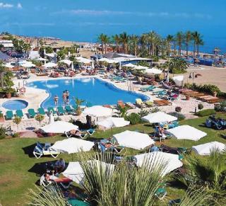 Spanien im Amaragua Hotel mit Blick auf den Garten