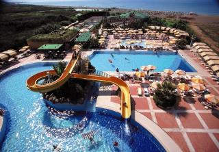 Türkei - Aska Washington Resort mit einem Blick vom Pool