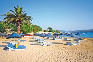 Türkei im Club Resort Atlantis mit einem Bild vom Strand
