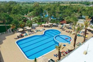Türkei im Linda Hotel in Side mit blick auf den Pool