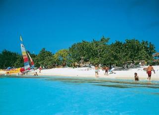 Kuba im Playa Costa Verde am Strand