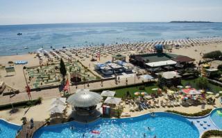 Bulgarien - Lti Neptun Beach mit einem Blick Richtung Meer