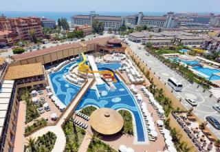 Türkei - Villa Side Residenz mit Blick Richtung Meer