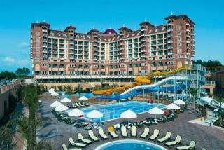 Türkei - Villa Side Residenz mit Blick auf das Hotel