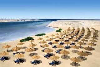Ägypten - Oriental Bay Resort mit einem Blick auf den Strand