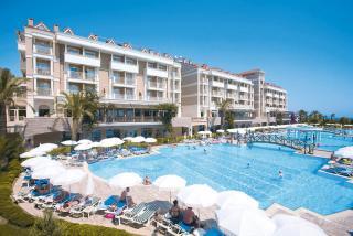 Türkei - Trendy Aspendos Beach Hotel in einer Aussenansicht