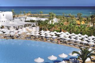 Tunesien - RIU Plam Azur mit Blick auf die Anlage und den Strand
