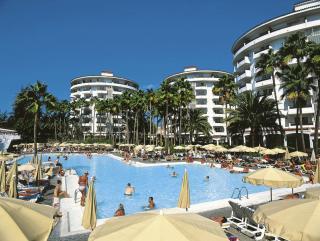 Gran Canaria - RIU Waikiki mit Blick auf den Pool