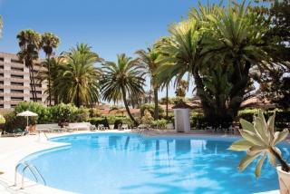 Gran Canaria - Bungalow-Hotel Parque Paraiso in einer Außenansicht