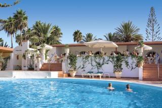 Gran Canaria - Bungalow-Hotel Parque Paraiso mit Blick auf die Unterbringung