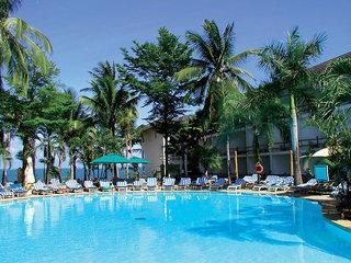 Kenia - Travelers Beach Club mit Blick auf den Pool und den Indischen Ozean
