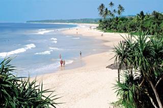 Sri Lanka-Koggala Beach & Club Koggala Village mit einem Blick auf den Strand und das Meer