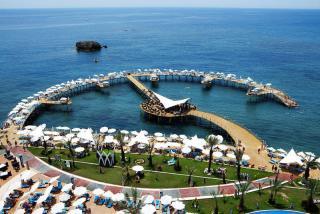 Türkei - Granada Luxury Resort & Spa mit Blck auf das Meer (kein Strand!)