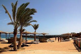 Ägypten - Palm Beach Resort mit einem Bild vom Strand