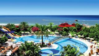 Türkei - Terrace Beach Resort mit Blick auf den Pool
