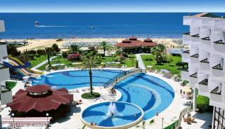 Türkei - Terrace Beach Resort mit Blick in Richtung Strand