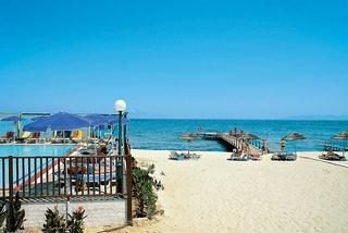 Kos - Mastichari Bay mit einem Bild vom Strand