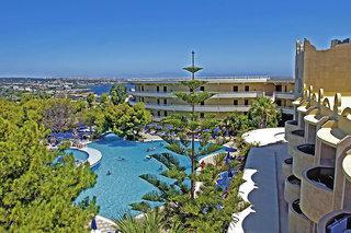 Rhodos - Kalithea Mare Palace mit Blick auf den Pool