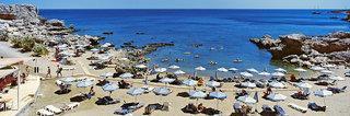 Rhodos - Kalithea Mare Palace mit einem Bild vom Strand