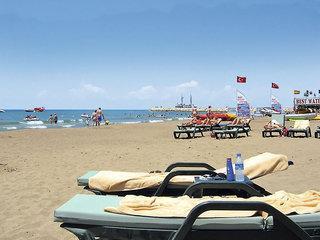 Türkei - Port Side Resort mit einem Bild vom Strand