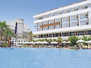 Türkei - Port Side Resort mit einem Blick auf den Pool