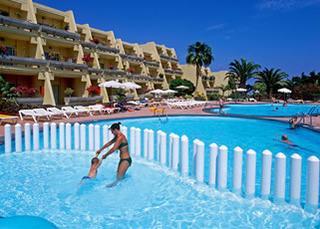 Fuerteventura - Aparthotel Sol Jandia Mar mit einem Blick über die Anlage