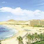 Last Minute Angebote für den Last Minute Urlaub auf Fuerteventura - Blick auf das Clubhotel RIU Oliva